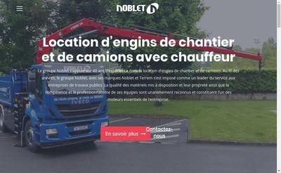 Site internet de Noblet