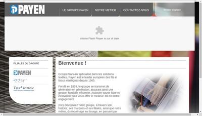 Site internet de Payen