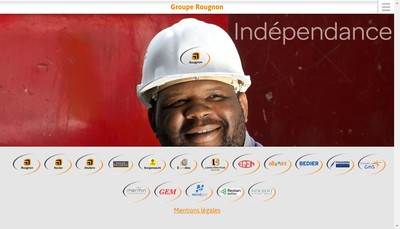 Site internet de Entreprise Bedier