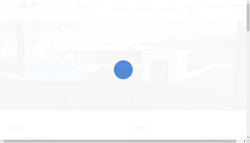 Capture d'écran du site de Patrick Metz