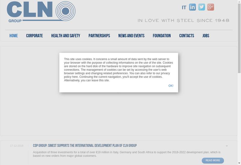 Capture d'écran du site de Dunlop