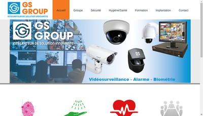 Site internet de Gs Group