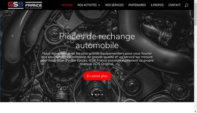 Site internet de Gsb France