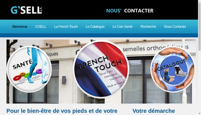 Site internet de Chaussures Orthopediques G'Sell