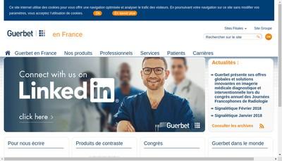 Site internet de Guerbet France