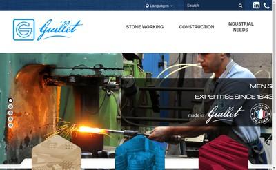 Site internet de Guillet