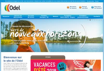 Capture d'écran du site de SAS HCE
