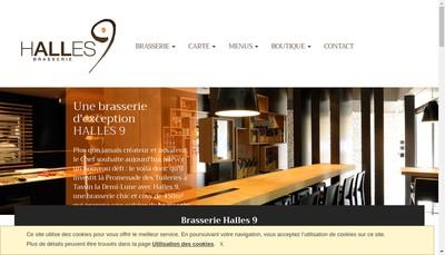 Site internet de Brasserie l'Instant M