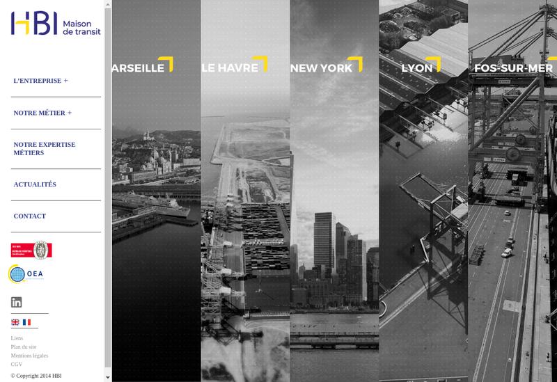 Capture d'écran du site de Hmd International France
