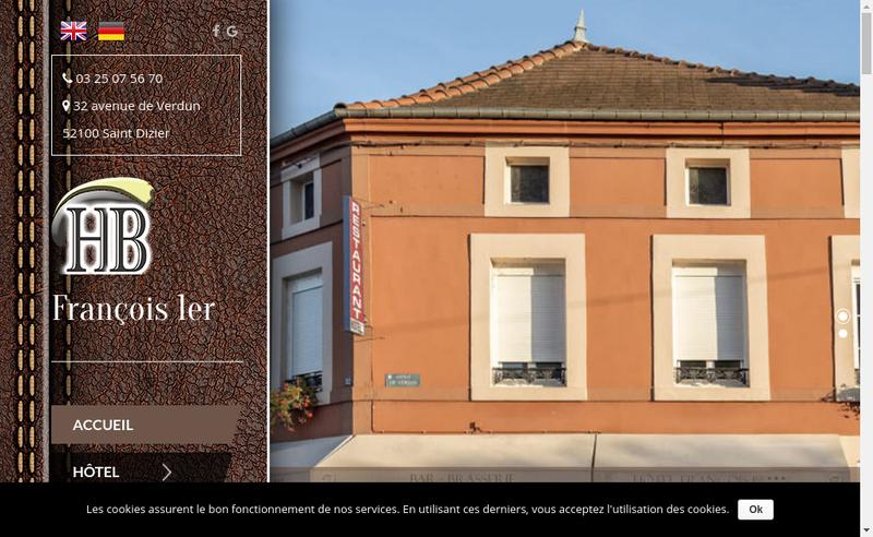 Capture d'écran du site de Le Francois 1Er
