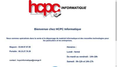 Site internet de Hcpc Informatique