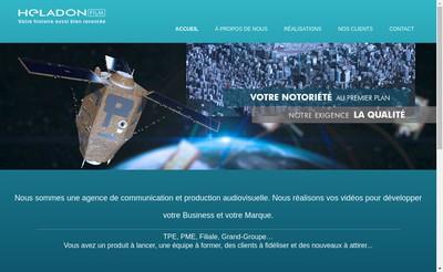Site internet de Heladon