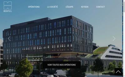 Site internet de Hertel SA