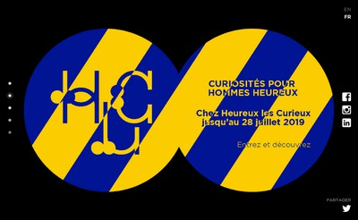 Site internet de Heureux les Curieux