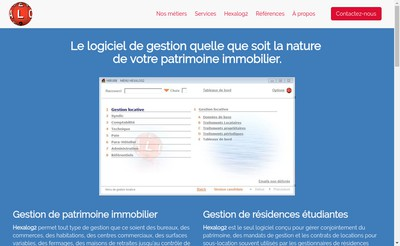 Site internet de Hexalog