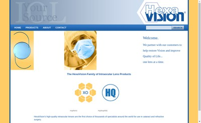 Site internet de Hexavision