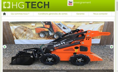 Site internet de SARL Hg Tech