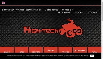 Site internet de High Tech 68