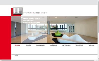 Site internet de Francilienne d'Entreprise