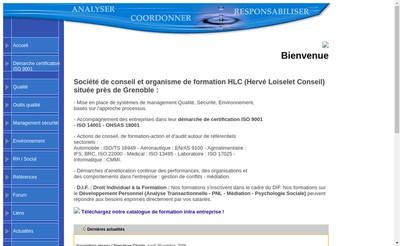 Site internet de Hlc
