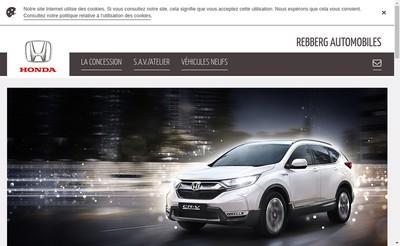 Site internet de Rebberg Automobiles