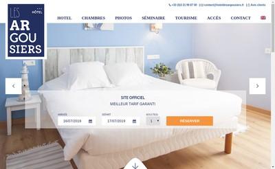 Site internet de Hotel des Argousiers