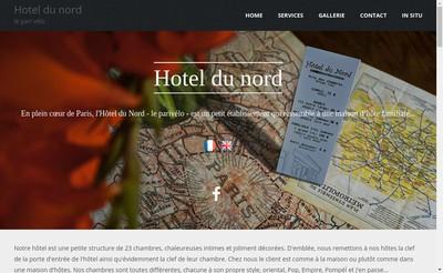 Site internet de Le Pari Velo
