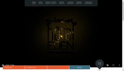 Site internet de Societe Eden Hotel