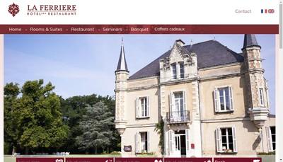 Site internet de La Ferriere