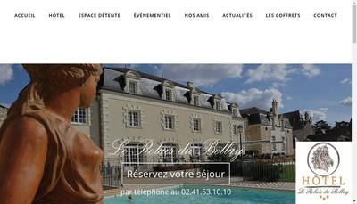 Site internet de Le Relais du Bellay