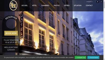 Site internet de Societe Hotel Saint Honore