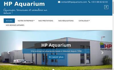 Site internet de HP Aquarium