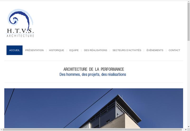 Capture d'écran du site de Tetrarc