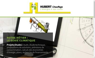 Site internet de Hubert