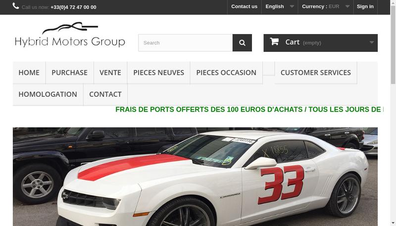 Capture d'écran du site de Jean Auto