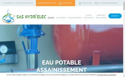 Site internet de Hydr'Elec