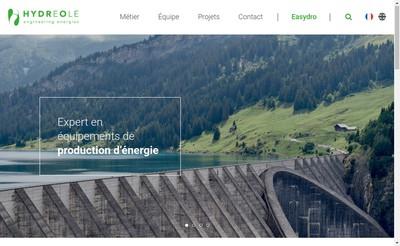 Site internet de Hydreole