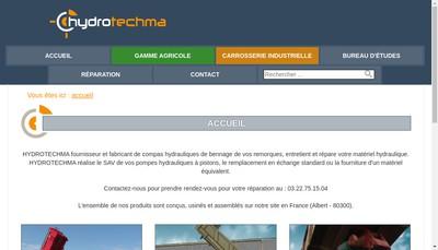 Site internet de Hydro Techma