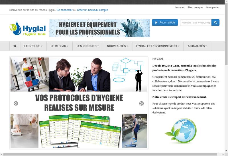 Capture d'écran du site de Sogapel