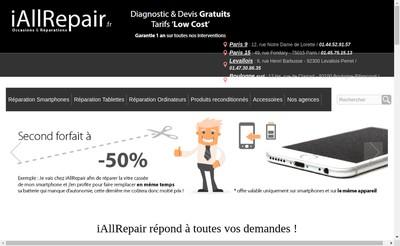 Site internet de I All Repair