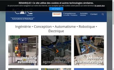 Site internet de Icare-Systems