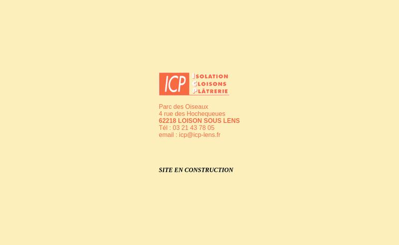 Site internet de Icp