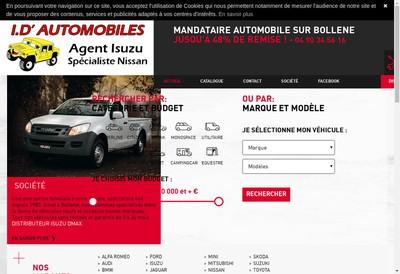 Site internet de ID Automobiles