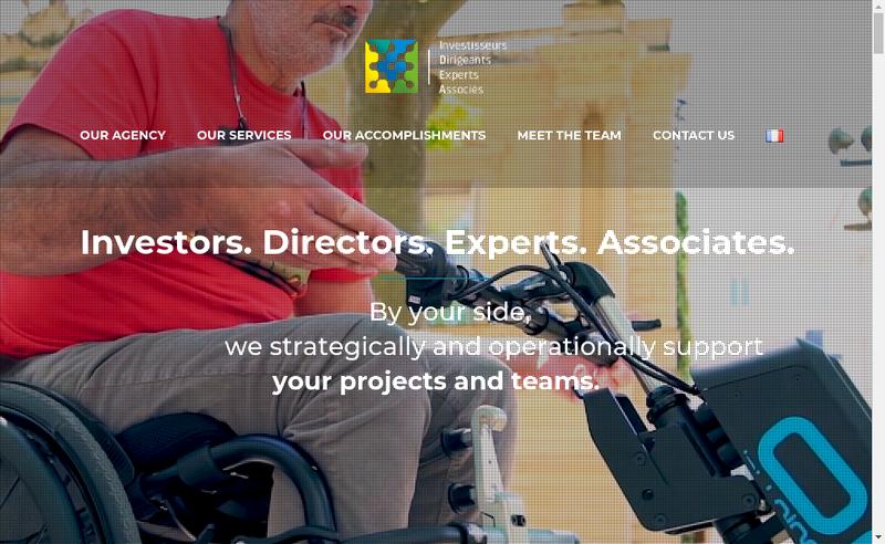 Capture d'écran du site de Idea