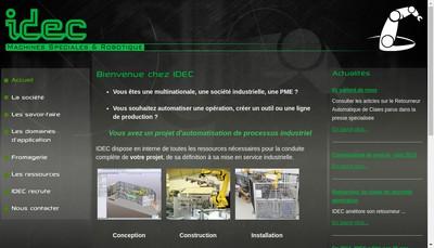 Site internet de Idec