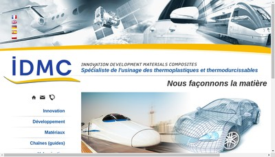 Site internet de Idmc