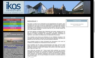 Site internet de Ikos Consultant