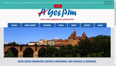 Site internet de Agespim