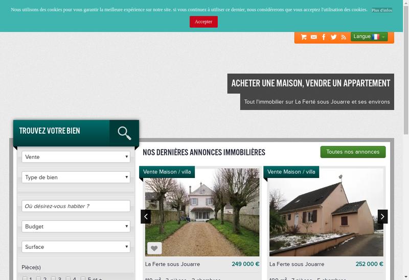Capture d'écran du site de Agence du Memorial