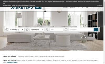 Site internet de Immobiliere Dabreteau